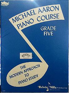 MICHAEL AARON – CURSO PARA PIANO 5° VOL – Edição em inglês