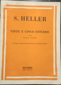 HELLER - 25 ESTUDOS opus 45 - Heller (Ricordi)
