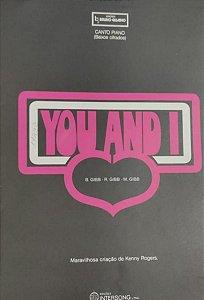 YOU AND I - partitura para piano e canto (baixos cifrados) - Barry, Robin e Maurice Gibb