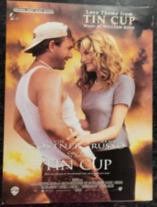 TIN CUP (Love theme from) - partitura para piano - William Ross