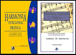 HARMONIA FUNCIONAL PRÁTICA + CADERNO DE RESPOSTAS - Hannelore Bucher