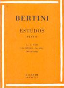 BERTINI - 25 ESTUDOS PARA PIANO - Op. 100 - VOL.1 – Ricordi
