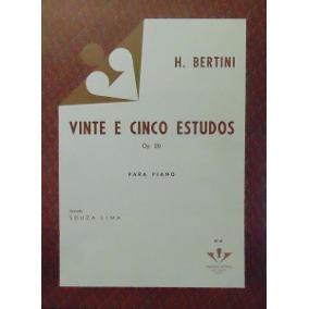 BERTINI - 25 ESTUDOS PARA PIANO - Op. 29 - VOL.2 – Vitale