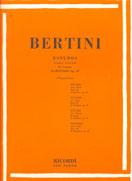 BERTINI - 25 ESTUDOS PARA PIANO - Op. 29 - VOL.2 – Ricordi