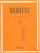 BERTINI - 25 ESTUDOS PARA PIANO - Op. 32 - VOL.3 – Ricordi
