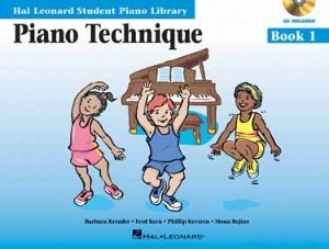 PIANO TECHNIQUE BOOK 1 - Com CD - Hal Leonard Student Piano Library