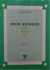 BURGMULLER - 12 ESTUDOS - Op. 105 - VOL. 3