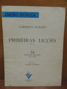 GURLITT - PRIMEIRAS LIÇÕES Op. 117 - 34 Pequenas Melodias Para Piano