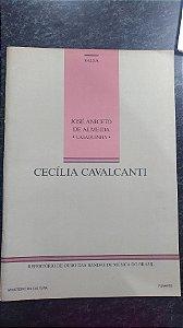 CECÍLIA CAVALCANTI (Valsa) – José Aniceto de Almeida Casaquinha - PARTITURAS PARA BANDA