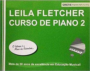 LEILA FLETCHER CURSO DE PIANO Vol. 2 Livro + Áudio Online - Nova Edição em Português