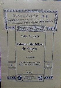 ESTUDOS MELÓDICOS DE OITAVAS 2° CADERNO Opus 70 – Paul Zilcher
