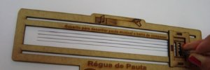 RÉGUA DE PAUTA