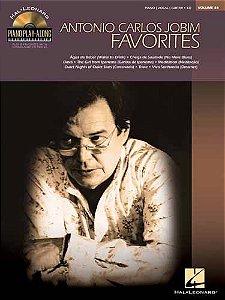 ANTONIO CARLOS JOBIM - FAVORITES - Piano Play-Along Volume 84