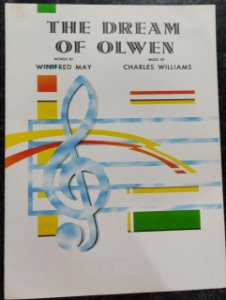 THE DREAM OF OLWEN -partitura de piano, canto e cifras para violão - Winifred May e Charles Williams