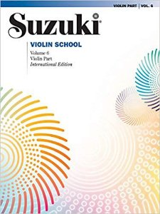 SUZUKI VIOLIN SCHOOL - Vol. 6 - Violin Part – International Edition