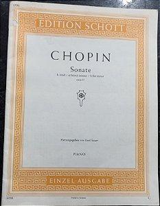 CHOPIN - SONATA Opus 35 em Si Bemol menor – Editora Schott