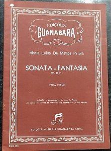 MARIA LUISA DE MATTOS PRIOLLI - SONATA Opus 21 n° 1 – Editora Musicais Guanabara