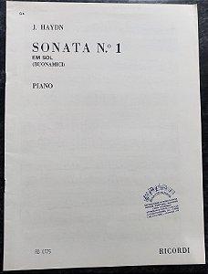 HAYDN - SONATA N° 1 em Sol