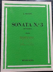 HAYDN - SONATA N° 3 - Editora Musicália/Ricordi