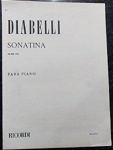 DIABELLI – SONATINA Opus 168 n° 1 (Rev.P. Montani) - Editora Ricordi