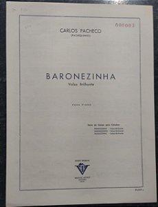 BARONEZINHA - partitura para piano - Carlos Pacheco
