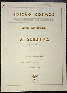 BEETHOVEN – SONATINA N° 2 – Editora Vitale