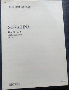 KUHLAU – SONATINA OPUS 55 N° 1 – Editora Ricordi