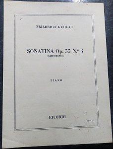 KUHLAU – SONATINA OPUS 55 N° 3 – Editora Ricordi