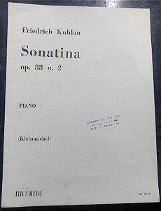 KUHLAU – SONATINA OPUS 88 N° 2 – Editora Ricordi