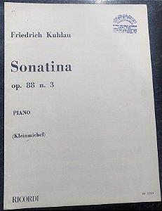 KUHLAU – SONATINA OPUS 88 N° 3 – Editora Ricordi