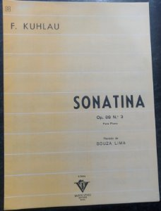 KUHLAU – SONATINA OPUS 88 N° 3 – Editora Vitale