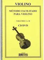 MÉTODO FACILITADO PARA VIOLINO - Vol. 1 e 2 - Nadilson Gama Edição Atualizada Com 2Cds e 1 Dvd