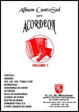 ÁLBUM para ACORDEON VOL 1 – Canto Sul