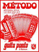 Método de GAITA PONTO (8 baixos) Voz trocada COM CD - Canto Sul