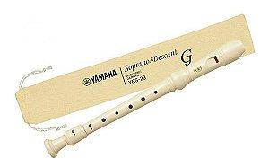 FLAUTA DOCE SOPRANO GERMÂNICA YAMAHA - YRS-23