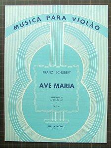 PARTITURA PARA VIOLÃO: AVE MARIA - Schubert