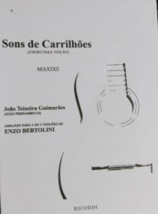 SONS DE CARRILHÕES - partitura para dois violões - João Teixeira Guimarães