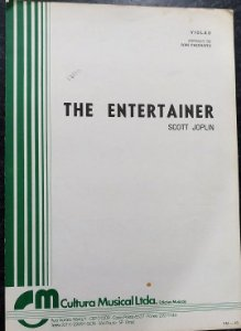 PARTITURA PARA VIOLÃO: THE ENTERTAINER - Scott Joplin