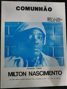 PARTITURA PARA PIANO: COMUNHÃO - Milton Nascimento