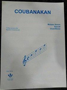 PARTITURA PARA PIANO: COUBANAKAN - Moises Simon, Sauvat, Chamfleury (trilha sonora da Novela Kubanacan)