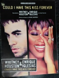 PARTITURA PARA PIANO: COULD I HAVE THS KISS FOREVER - Whitney Houston e Enrique Iglesias