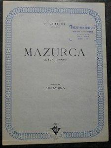 MAZURCA OPUS 67 N° 4 (PÓSTUMA) - Chopin (partitura para piano solo)