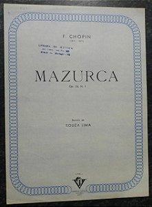 MAZURCA OPUS 24 N° 1 - Chopin (partitura piano solo)