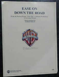 EASE ON DOWN THE ROAD (do filme The Wiz) - partitura para piano e canto e cifras para violão - Charlie Smalls