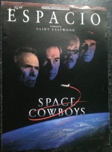 ESPACIO (TEMA NO FILME SPACE COWBOY) - partitura para piano solo - Clint Eastwood