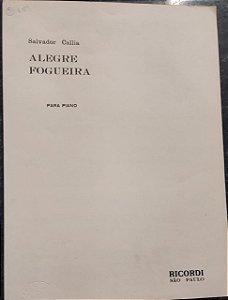 ALEGRE FOGUEIRA - Partitura para piano (2 ou 4 mãos) - Salvador Callia