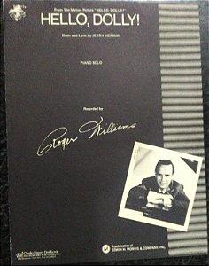 HELLO, DOLLY! - partitura para piano solo - Jerry Herman. GravaçãoAndy Williams