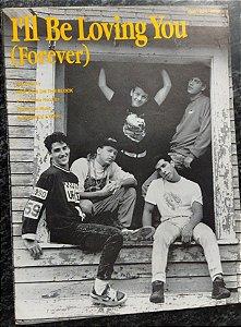 I´LL BE LOVING YOU (FOREVER) - partitura para piano, canto e cifras para violão - New Kids on the Block