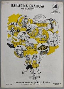 BAILARINA GRACIOSA - partitura para piano - William Scher