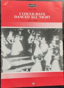 I COULD HAVE DANCED ALL NIGHT - partitura para piano e canto - Frederick Loewe e Alan Jay Lerner
